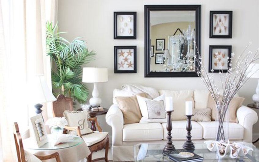 آینه ها فضای خانه را بزرگتر نمایش میدهند