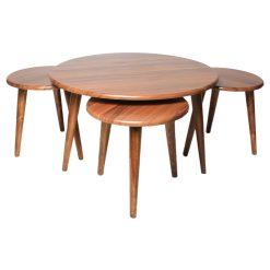 میز جلو مبلی گرد والیس کد A1-WA