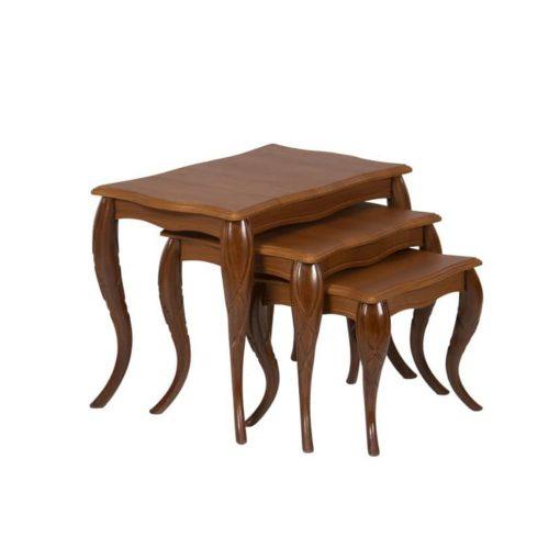 میز عسلی طرح پیچک وودیمو کد D34